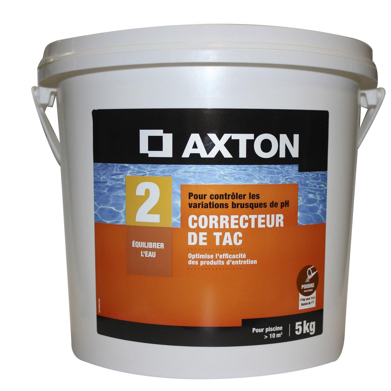 Correcteur de tac piscine enfant axton en poudre 5 kg for Tac produit piscine