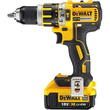 Perceuse à percussion sans fil DEWALT Dcd795m2, 18 V 4 Ah, 2 batteries