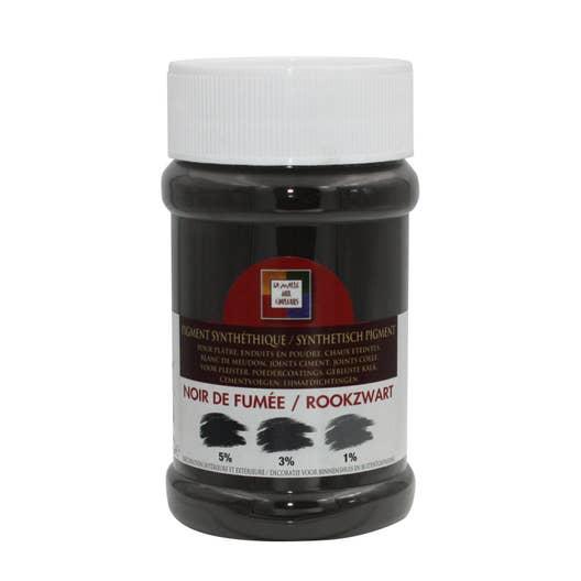 pigment poudre malle aux couleurs noir de fum e 250 ml leroy merlin. Black Bedroom Furniture Sets. Home Design Ideas