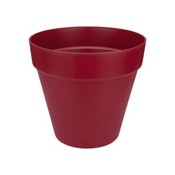 Pot De Fleurs Extérieur Intérieur Bois Fibre Plastique