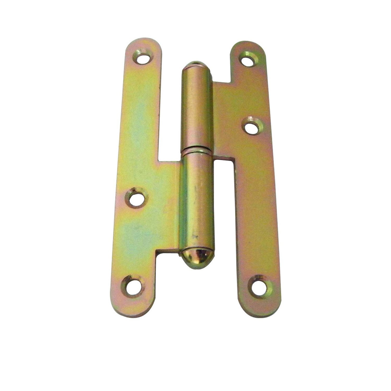 Elegant Paumelle Acier Pour Porte, L.110 X L.55 Mm Conception Etonnante