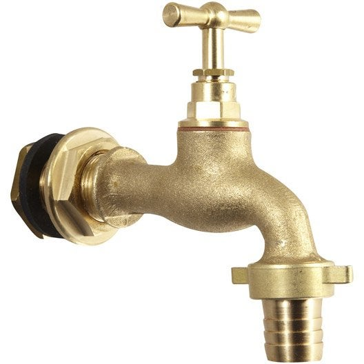 robinet cuve plastique récuparateur eau de pluie 20 x 27mm   leroy