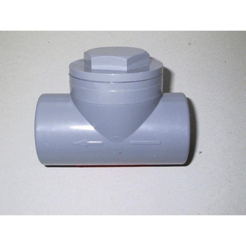 Clapet Antiretour En Pvc à Coller Femelle Femelle D32