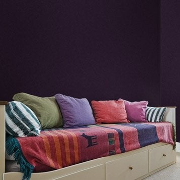 Papier peint intissé Massai violet