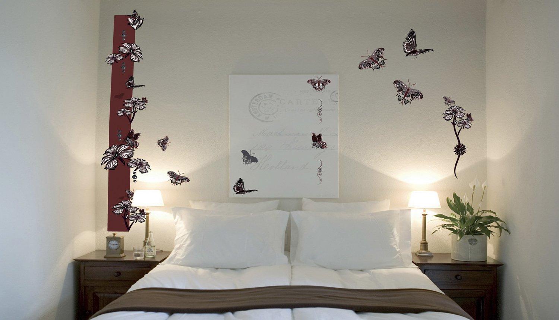 stickers papillons dans la chambre leroy merlin. Black Bedroom Furniture Sets. Home Design Ideas