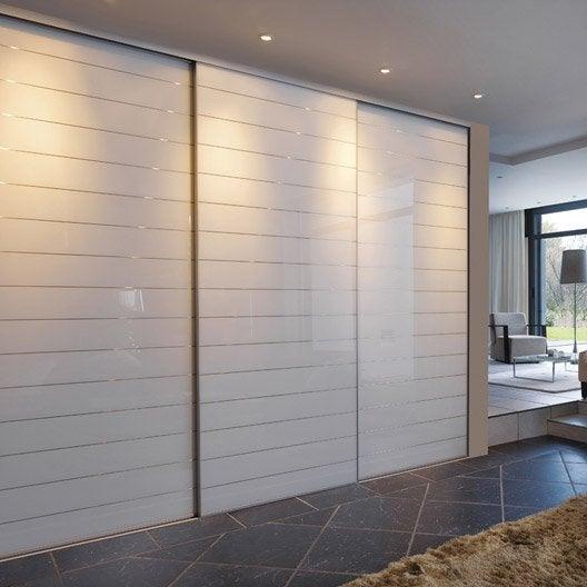 Porte de placard coulissante sur mesure optimum uno de 35 for Porte de 60 cm