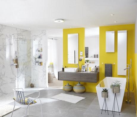 Salles de bains styles et tendances leroy merlin - Ardoise salle de bain ...