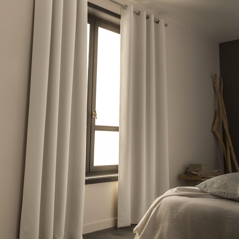 Le rideau occultant qui stoppe la lumi re leroy merlin - Rideaux pour chambre ...