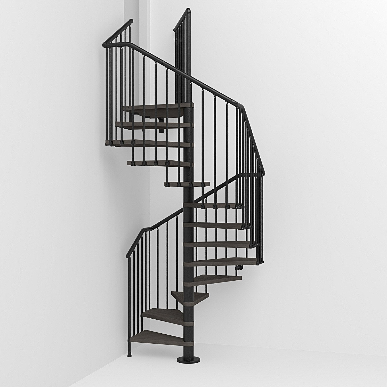 escalier colima on carr cube structure acier marche bois leroy merlin. Black Bedroom Furniture Sets. Home Design Ideas
