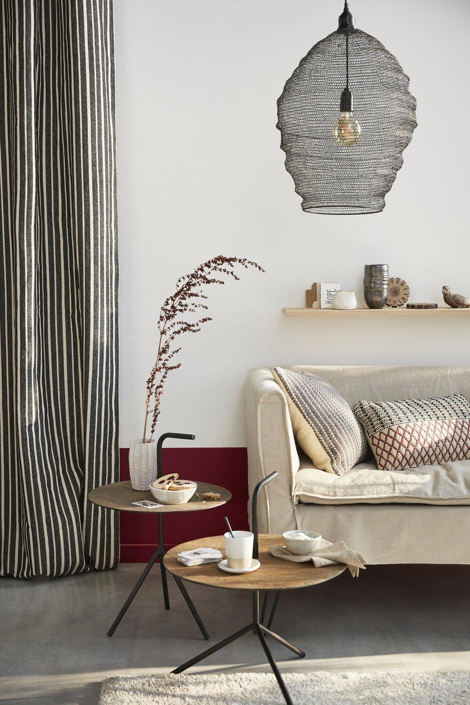 le salon ethnique chic une invitation la relaxation leroy merlin. Black Bedroom Furniture Sets. Home Design Ideas