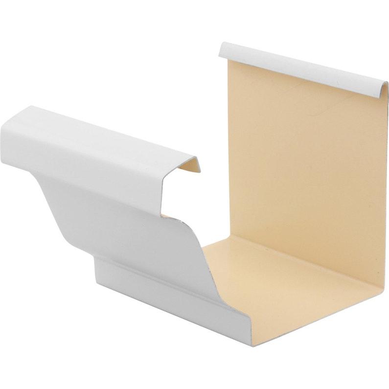 Jonction De Gouttière Aluminium Blanc Scover Plus