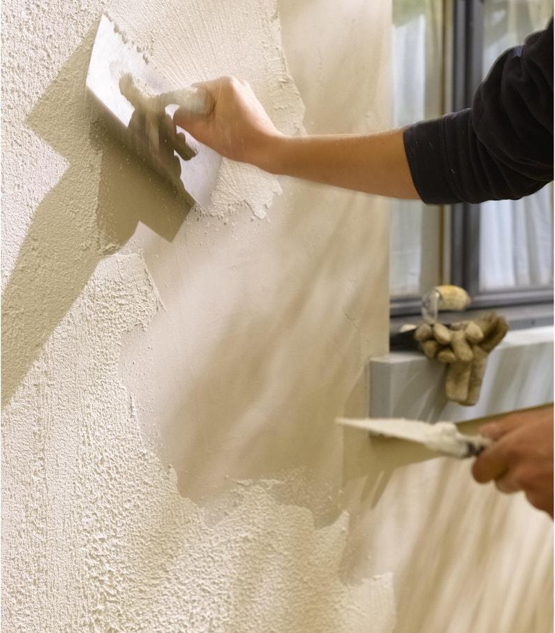 Crépis Façade Luxens Blanc Mat 15 Kg