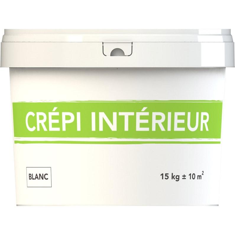 Crépi 1er Prix Intérieur Décoratif Blanc 15 Kg