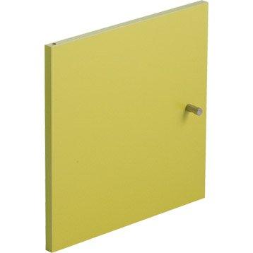 Porte MULTIKAZ, vert H.32.2 x l.32.2 x P.1.5 cm