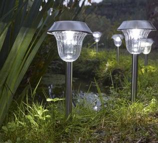 Le solaire illumine votre jardin