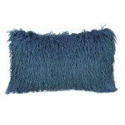 Coussin Dolma, bleu, l.50 x H.30 cm