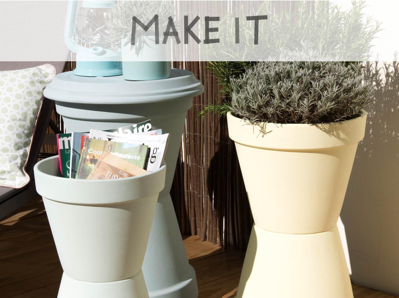 DIY : Créer des rangements avec des pots en terre cuite