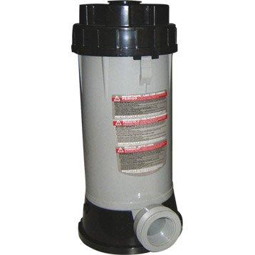 Distributeur de chlore / brome doseur de chlore à monter en ligne - contenance 4