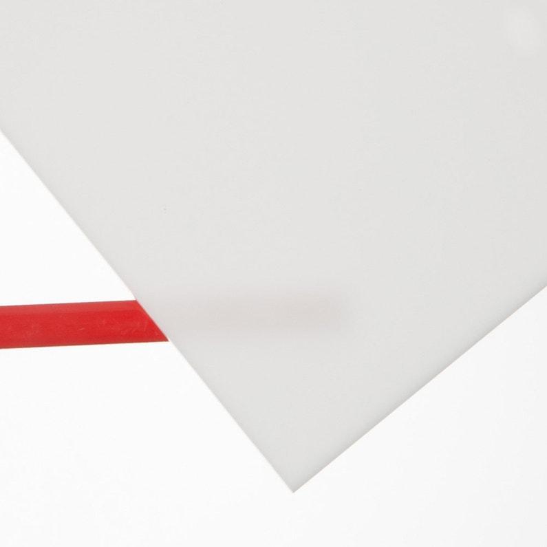 Plaque Acrylique 3 Mm Blanc Lisse L 100 X 60 Cm Leroy Merlin