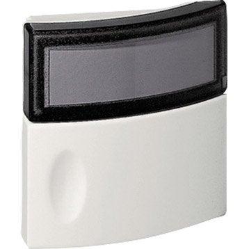 Bouton de sonnette filaire LEGRAND 94247, blanc