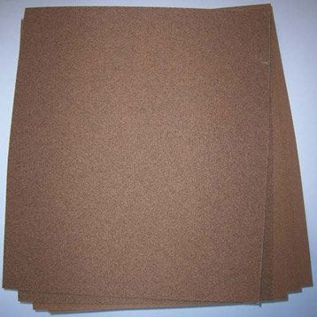 Lot de 5 feuilles abrasives 3M, 280 x 230 mm grains 180