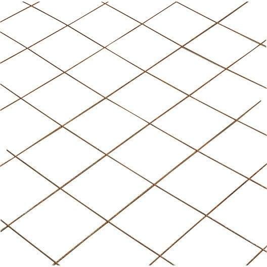 Treillis soudé, 2.33 x 1.19 m Diam.3 mm