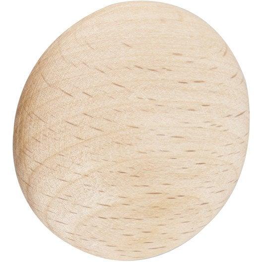 bouton de meuble dune bois brut leroy merlin. Black Bedroom Furniture Sets. Home Design Ideas