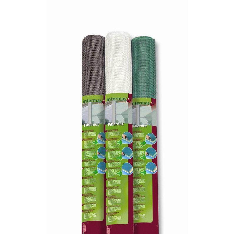 Moustiquaire Fibre De Verre Blanc H 1 5 X L 3 M Leroy Merlin