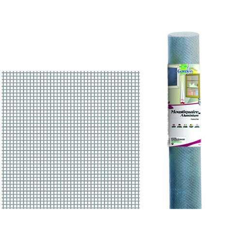 Moustiquaire Aluminium Gris H 0 6 X L 3 M