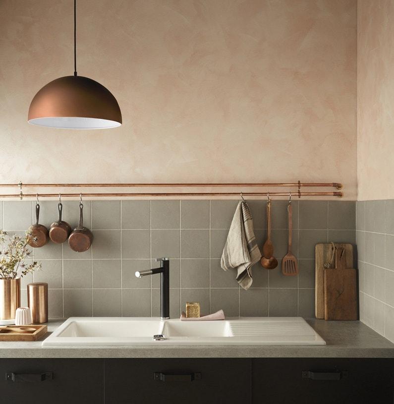 Une suspension aspect cuivre pour la cuisine vintage for Suspension cuivre cuisine