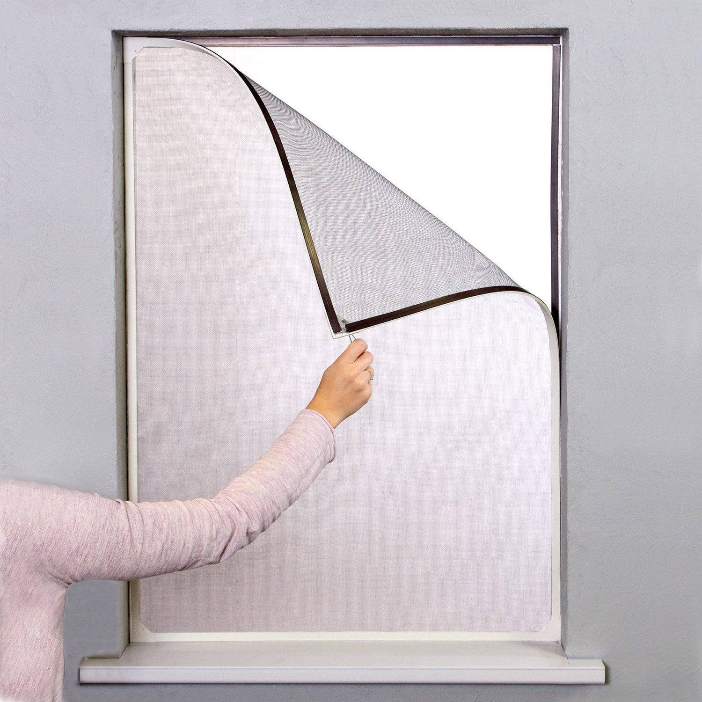 Genial Moustiquaire Pour Fenêtre H.120 X L.100 Cm