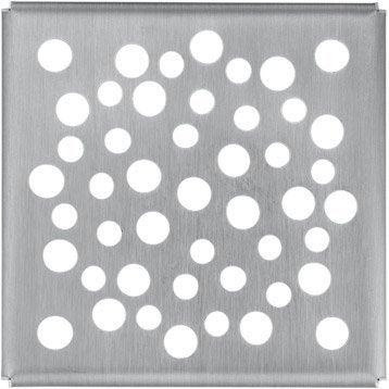Grille de finition douche à l'italienne, L.10 x l.10 cm, GIRPI