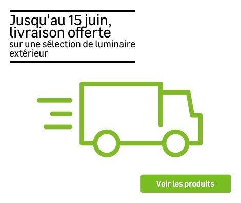 Service - Livraison offerte éclairage extérieur