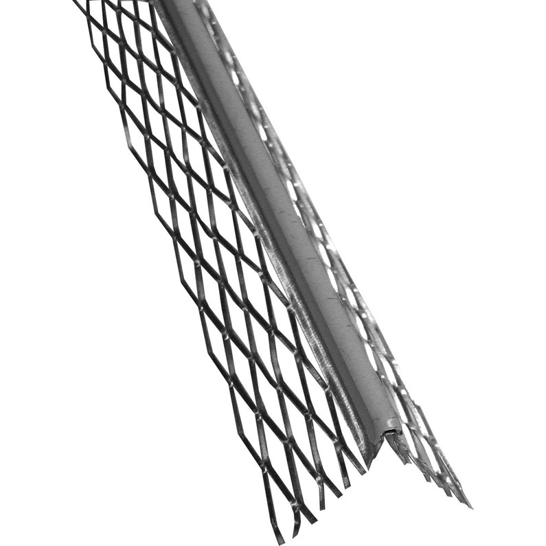 Profil Dangle Pour Enduit Pvc Gris 3 Ml