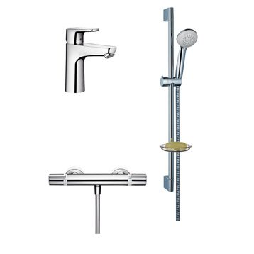 robinet de douche robinet de salle de bains leroy merlin. Black Bedroom Furniture Sets. Home Design Ideas