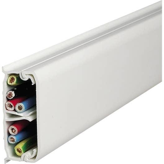 moulure blanc pour moulure h 1 3 x p 3 2 cm leroy merlin. Black Bedroom Furniture Sets. Home Design Ideas
