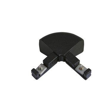 Raccord pour échelle KITAL aluminium noir H.15 x l.10 cm