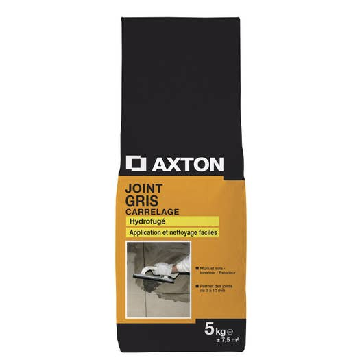 mortier de jointoiement gris axton 5 kg leroy merlin. Black Bedroom Furniture Sets. Home Design Ideas