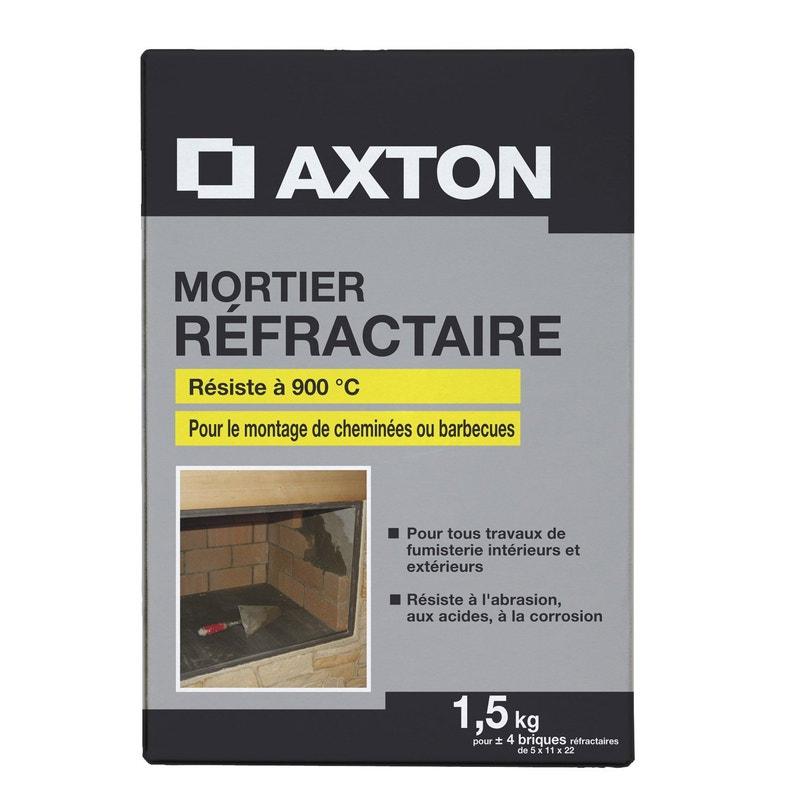 Mortier Réfractaire Axton 15 Kg