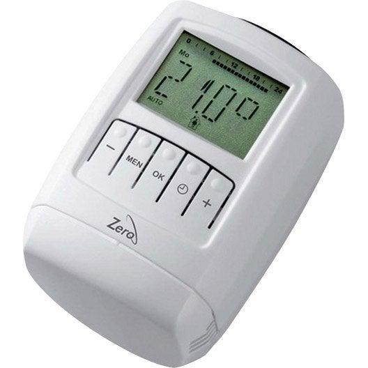 Radiateur fonte alu leroy merlin grille passerelle fonte - Robinet thermostatique radiateur programmable ...