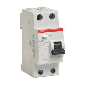 Interrupteur différentiel ABB, 30 mA 63 A A