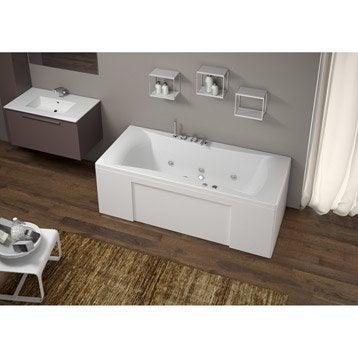 Baignoire baln o baignoire baln o spa et sauna leroy - Baignoire avec porte leroy merlin ...