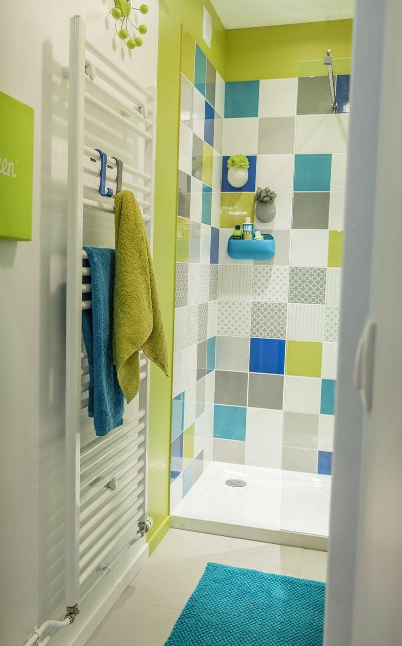 Une douche l 39 italienne color e leroy merlin - Douche italienne leroy merlin prix ...