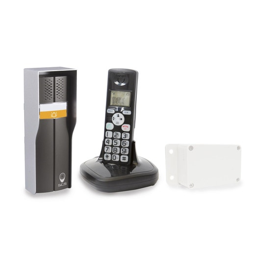 interphone sans fil scs sentinel duophone 150 leroy merlin. Black Bedroom Furniture Sets. Home Design Ideas
