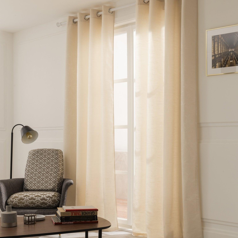rideaux et voilages habillent vos fen tres leroy merlin. Black Bedroom Furniture Sets. Home Design Ideas