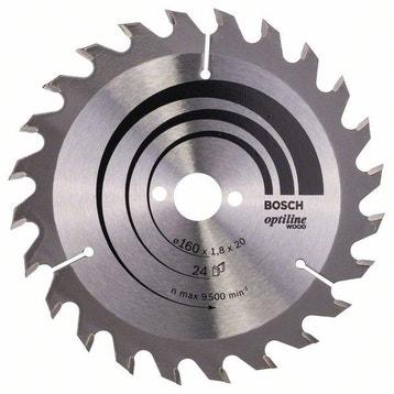 Lame bois coupe rapide et grossière BOSCH Optiline wood pour scie circulaire 6ef5952416d1