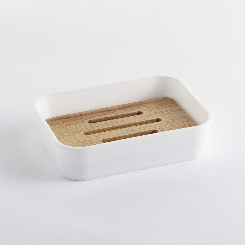 Porte-savon plastique Scandi, white n°0 Scandi