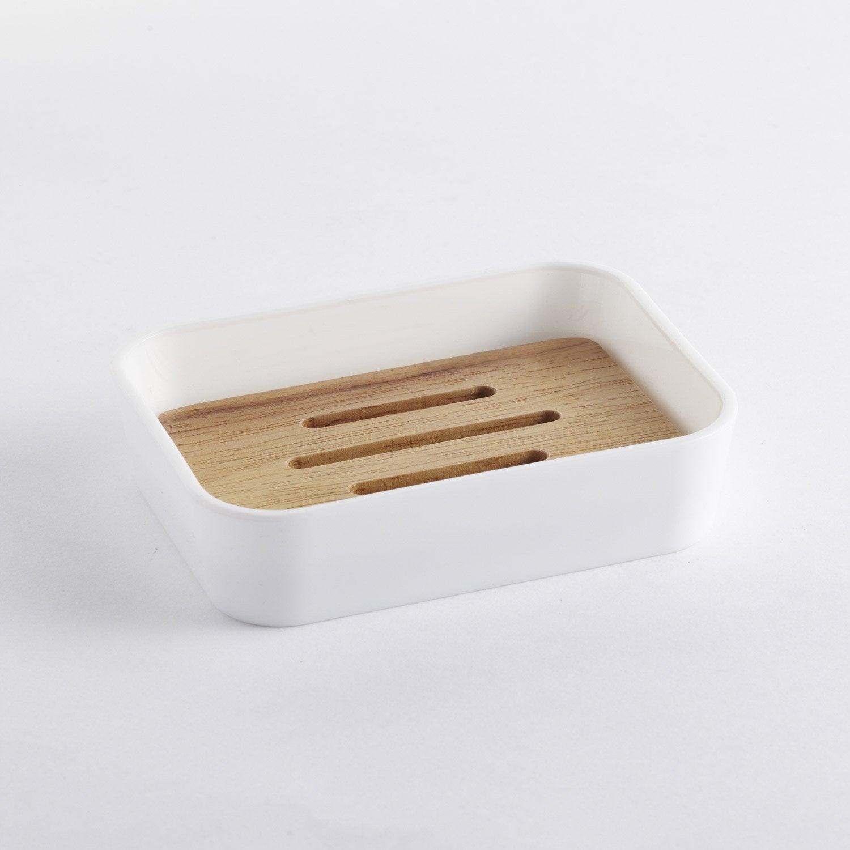 Porte-savon plastique Scandi, white n°0