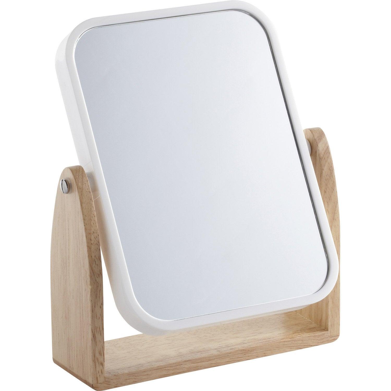 Miroir Scandi, blanc-blanc 0