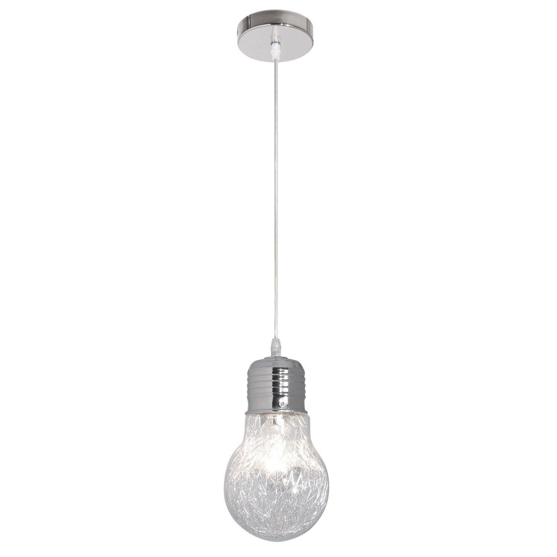 Transparent SuspensionE27 Ampoule 1 Filament Verre X Design Corep 60 W hrdsQtC